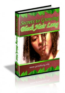 Secrets To Growing Black Hair Long
